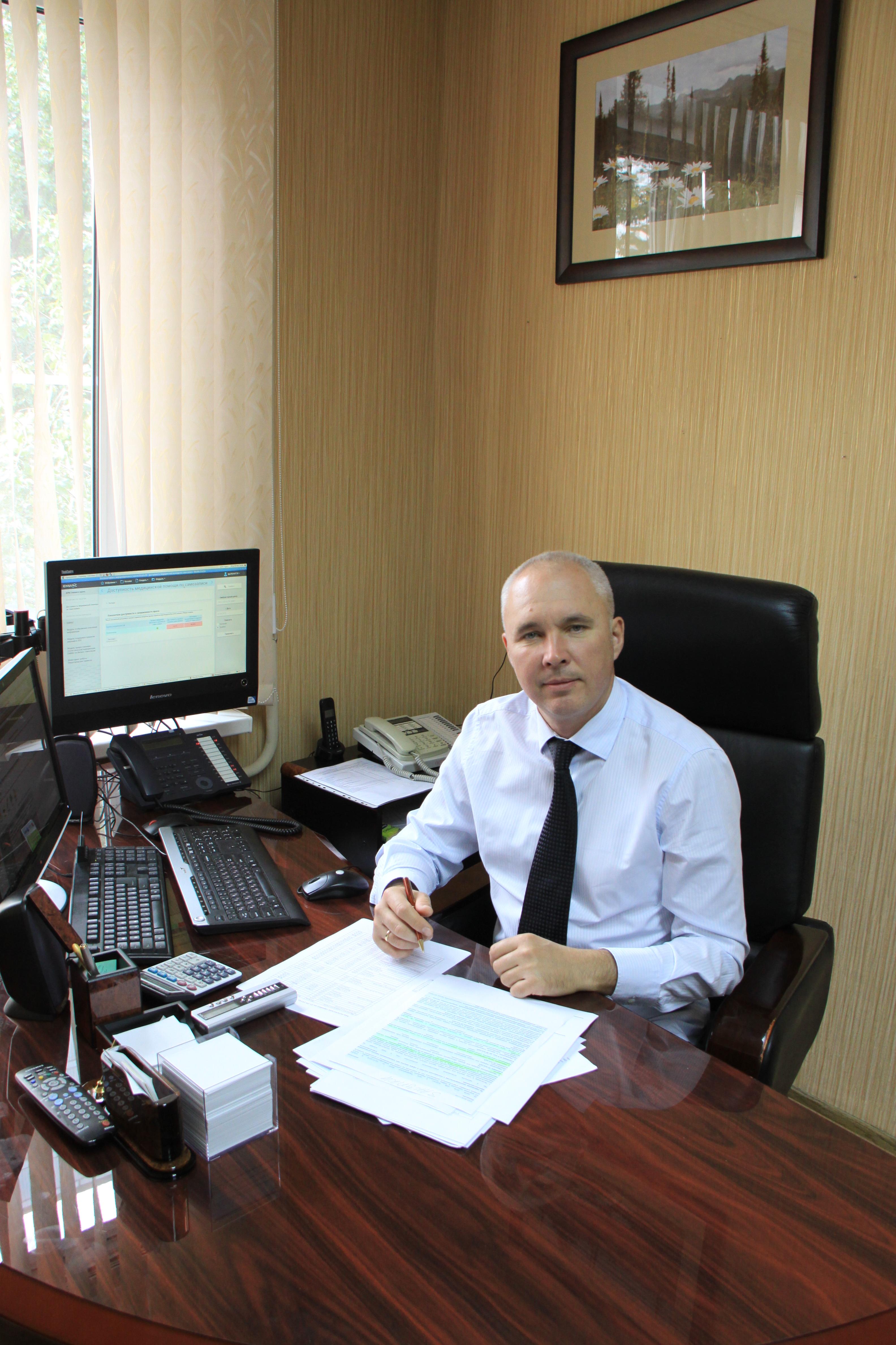 Фирфаров Константин Владимирович, главный врач СП56